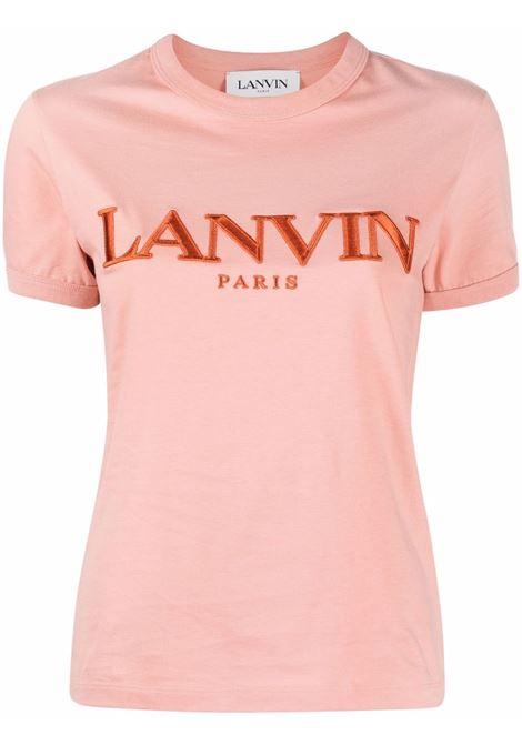 T-shirt con logo donna rosewood LANVIN | T-shirt | RWTS0007J00758