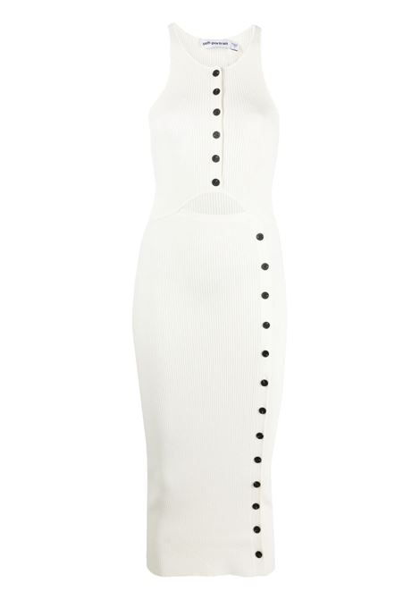Self-portrait ribbed dress women cream SELF-PORTRAIT | Dresses | SS21061CRM