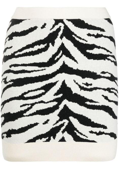 Self-portrait zebra print skirt women multicolor SELF-PORTRAIT | Skirts | SS21086MLTCLR